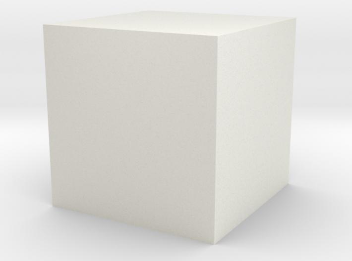 3D printed Sample Model Cube 1.95cm 3d printed
