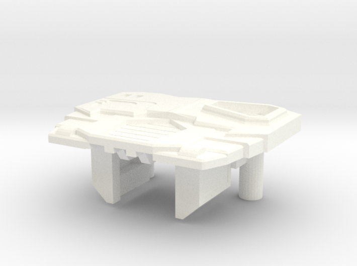 Toy style Sleuthing Robot Chest 3d printed