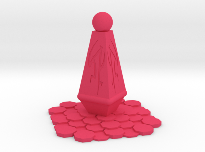 Alien Monument Miniature (28mm Scale) 3d printed