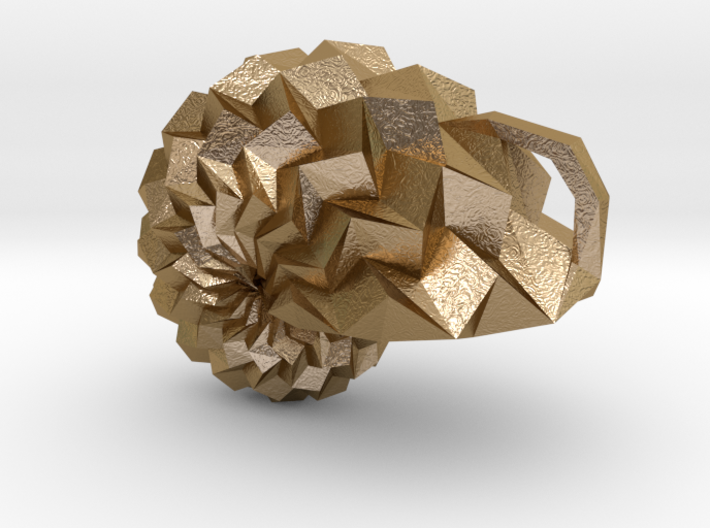 ORI*Universe Origami Pendant 3d printed
