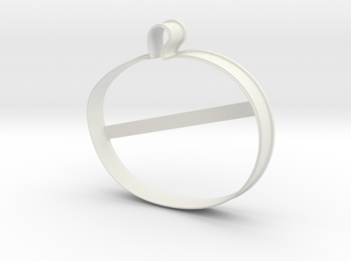 Pumpkin cookie cutter for professional 3d printed