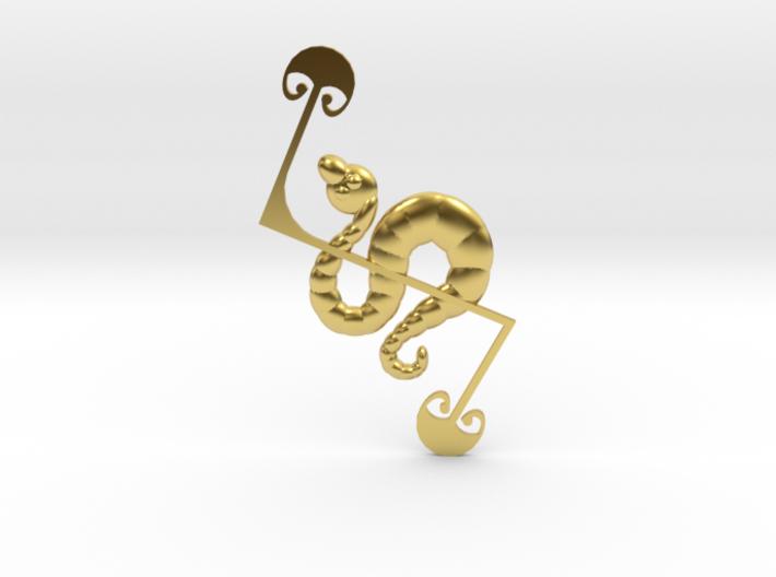 Z-Rod Serpent 3d printed