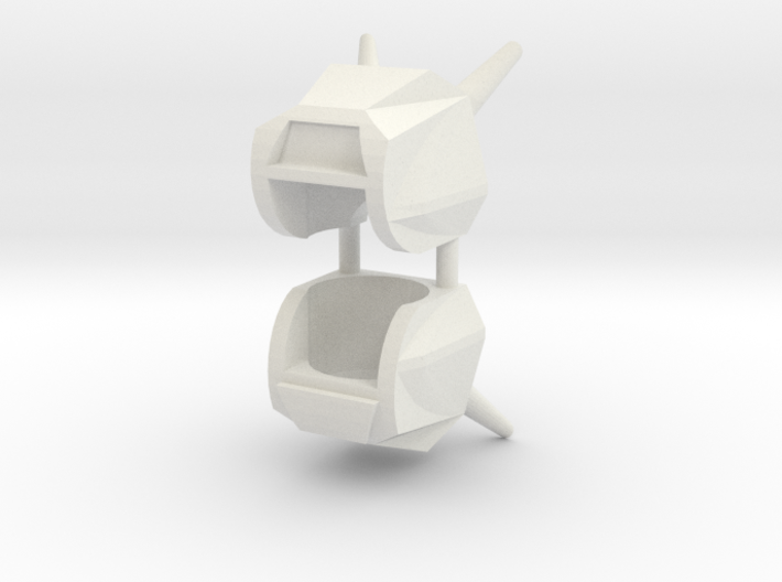 Robohelmet: Junkers (2 helmets) 3d printed