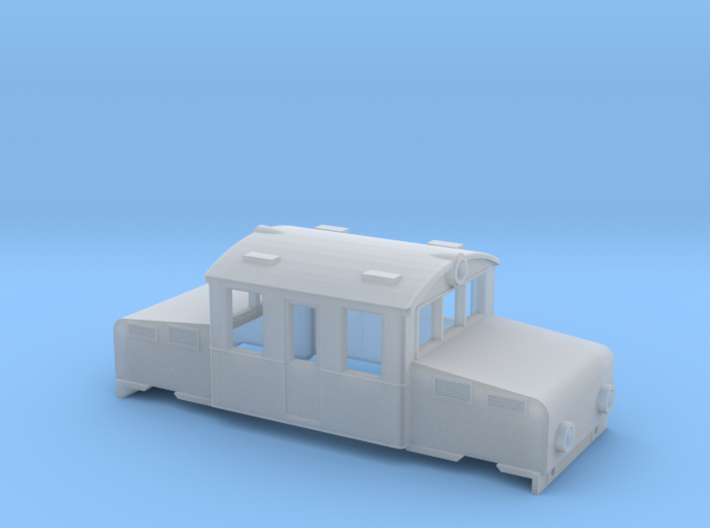 Swedish SJ accumulator locomotive type Öa - N-scal 3d printed