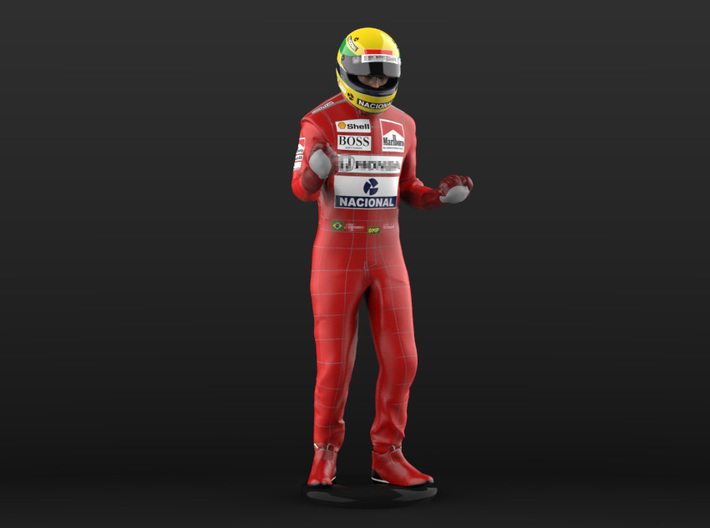 Ayrton 1/12 Celebrating #2 Figure 1988 3d printed