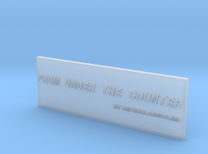 From under the Counter 3d printed