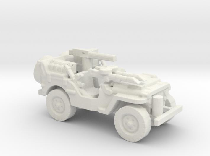 1/100 SAS Jeep ww2 3 3d printed