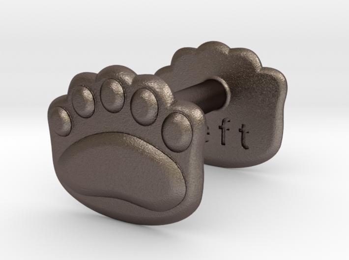 Teddy-bear paw wax seal 3d printed
