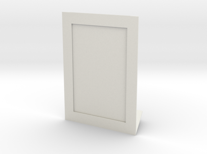 Photo Frame (4x6 in) + Engraving on your photo 3d printed