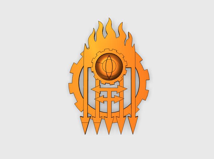 [Tiny Titans] Gated Eye: Warlord Insignia Sets 3d printed