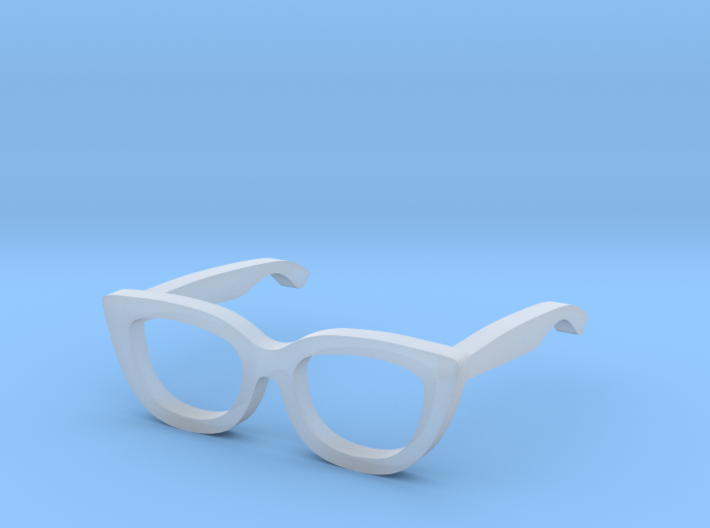 1:12 Cateye Doll Glasses 3d printed