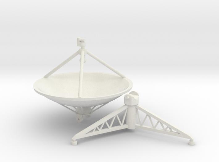 Parabolic antenna (210 cm) 1/32. 3d printed