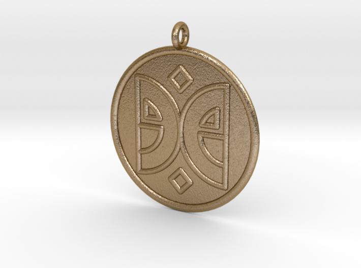 Arts Symbol 3d printed