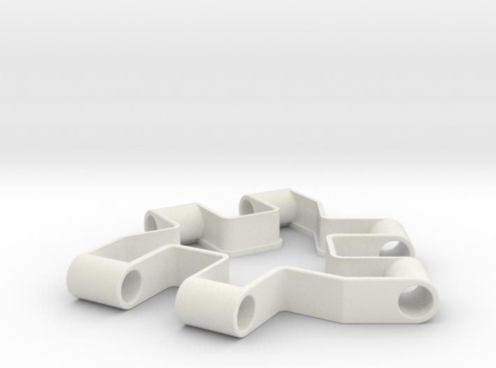 Material test part 1/2, Modular building block 3d printed