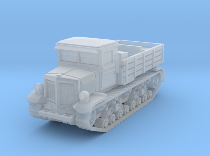 Voroshilovets tractor scale 1/144 3d printed