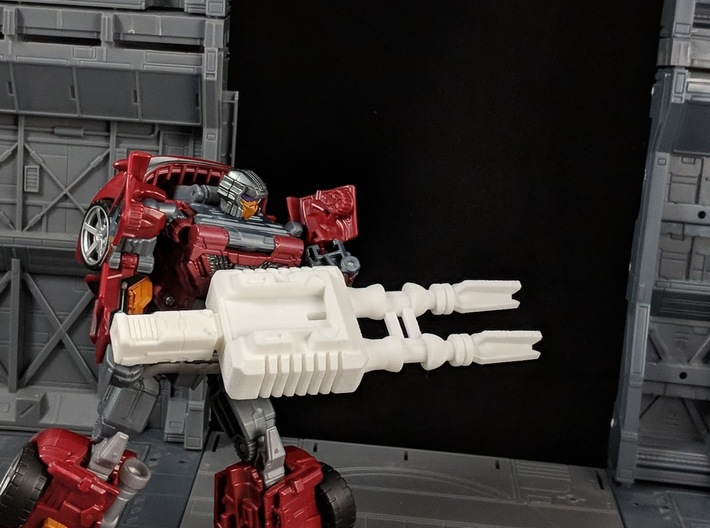 TF CW Dead End Car Cannon Seige Compatible 3d printed Combined for Robot Mode