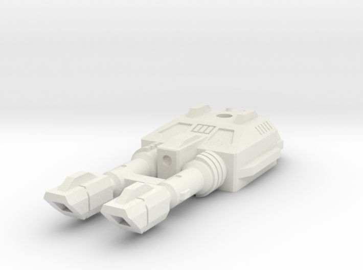 TF CW Dragstrip Slim Car Cannon 3d printed