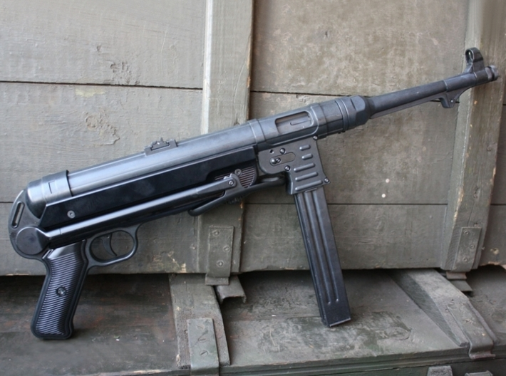1/22.5 scale MaschinenPistole MP-40 rifles x 5 3d printed