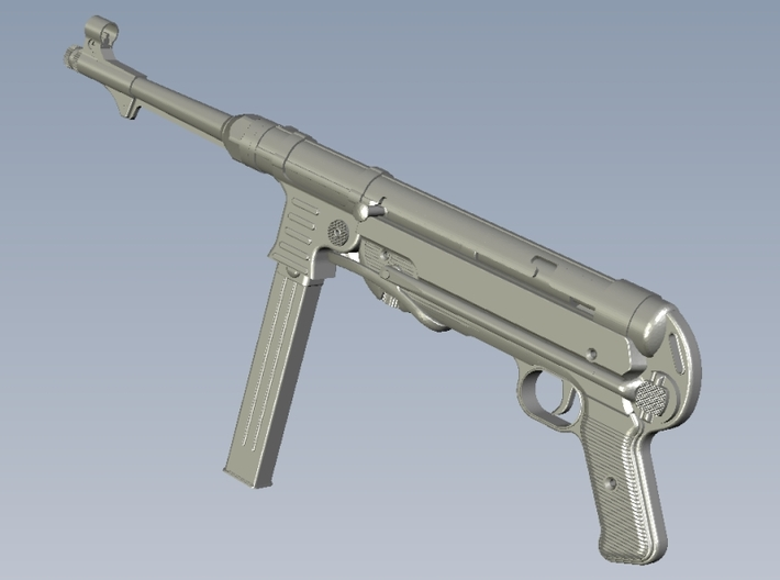1/22.5 scale MaschinenPistole MP-40 rifles x 3 3d printed