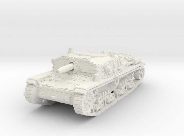Semovente M42 75/18 1/87 3d printed