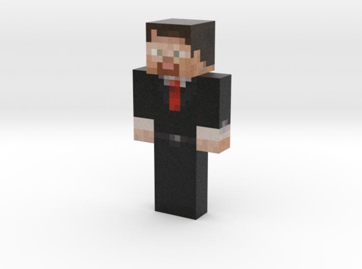 Pyrix | Minecraft toy 3d printed