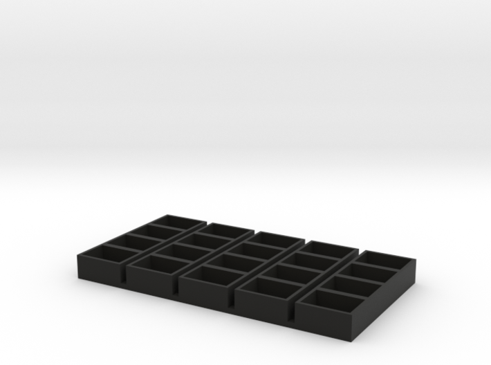 quad long 11x15x7 speaker box qty5 3d printed