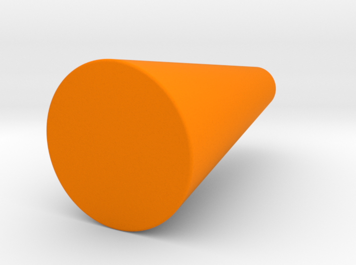 Rounded Cone Vase 3d printed