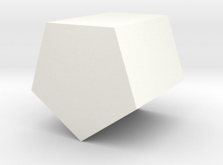 Simple Pentagonal Planter 3d printed