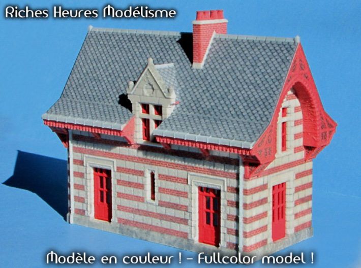 C-Hogch01 - Chenonceau train station 3d printed
