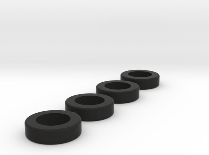 HO Tire tree 3d printed