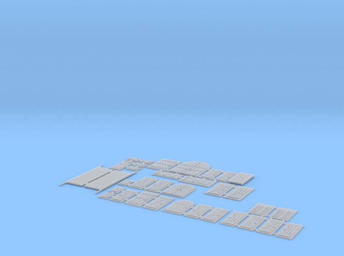 HOF072 - Optional HD frames 3d printed