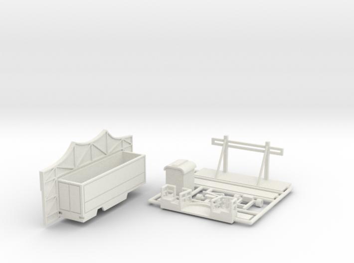 Mäusecircus (Z scale) 3d printed