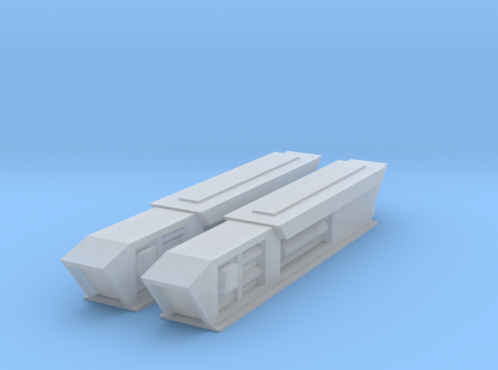 2500 Pointy-Eared Adversary Nacelles 2 3d printed