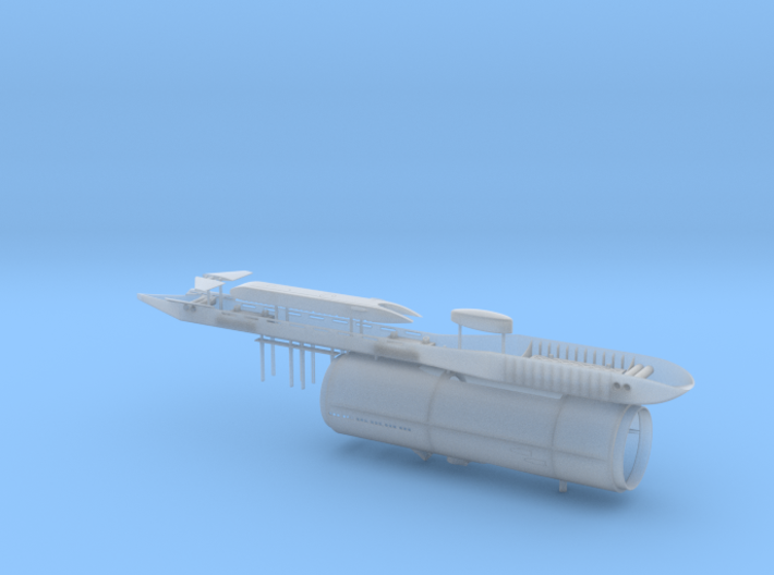 USS Parche SSN-683 Special Op. version 1/350 scale 3d printed