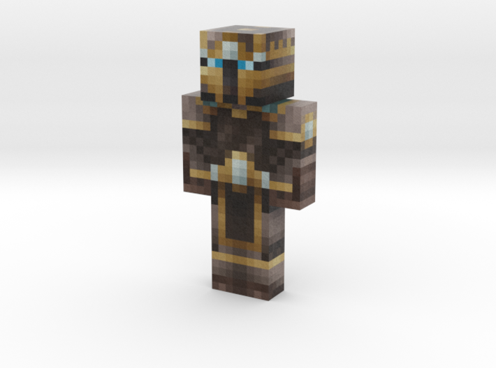 Label0 | Minecraft toy 3d printed