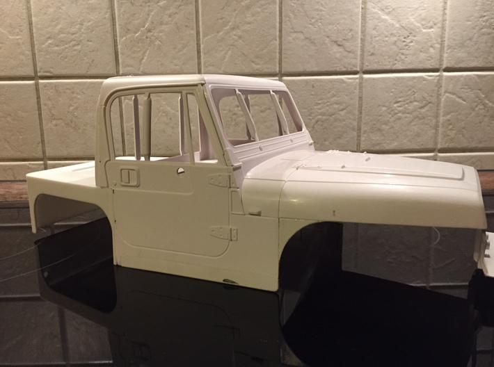 Dovetail for Tamiya Wrangler 3d printed