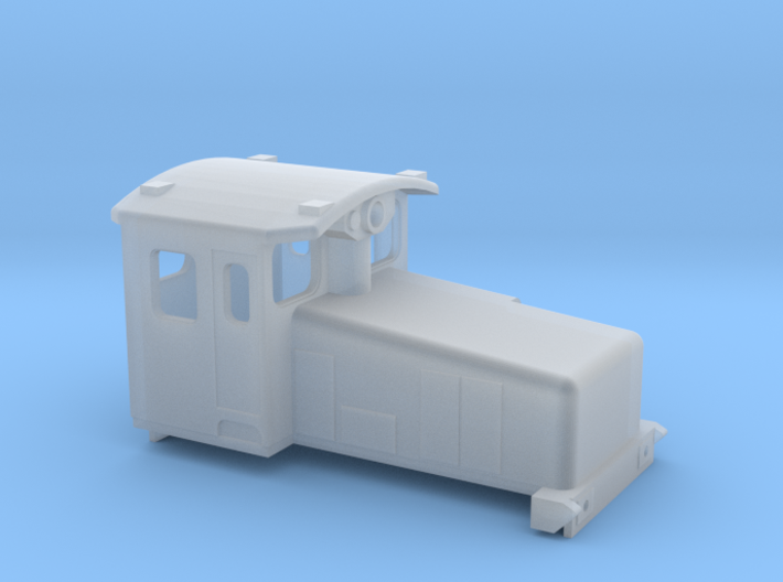 Swedish SJ electric locomotive type Za - N-scale 3d printed