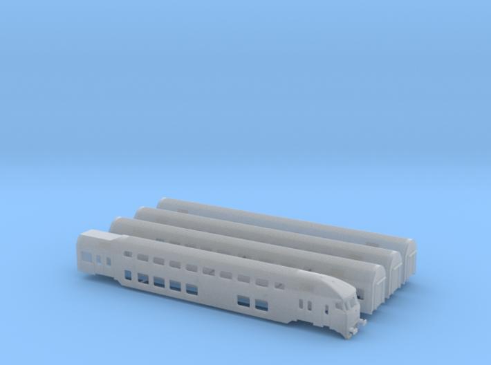 DD-AR set (1:160) 3d printed