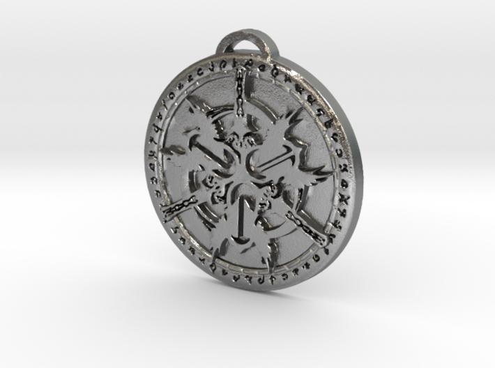 Warrior Class Medallion 3d printed