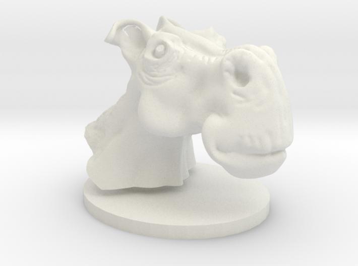 Horse head toon 3d printed