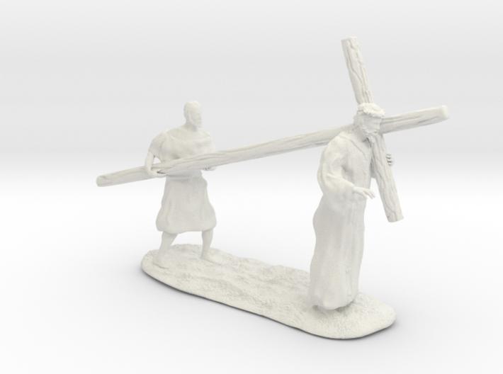 Nazarene religious figure 3d printed