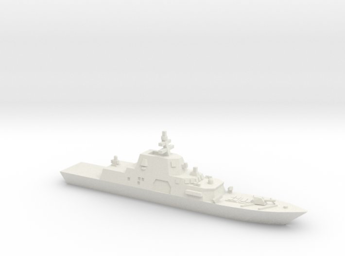 Freedom Variant Frigate, 1/1250 3d printed