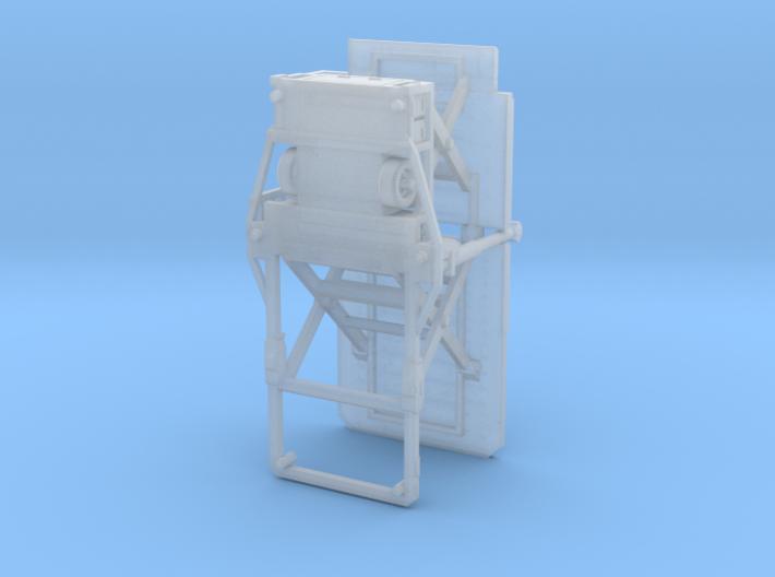 TrepelChamp70 9.5mm deck@1/400 3d printed