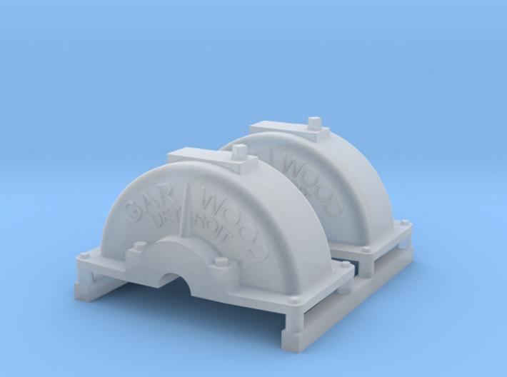 Dragon Wagon Winch Cover Set 3d printed