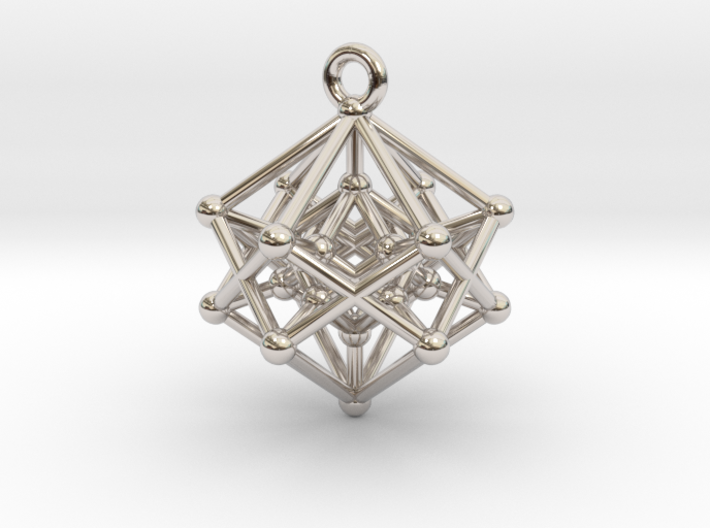 Introspection Pendant 3d printed