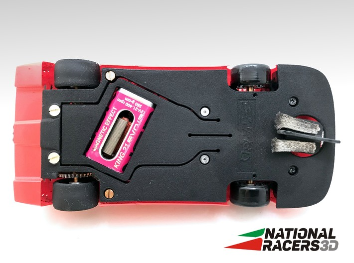 3D Chassis - Fly Ferrari F40 Anglewinder AllinOne 3d printed