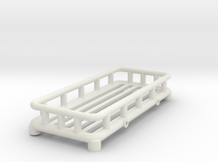 12th Scale Overland Roof Rack 3d printed
