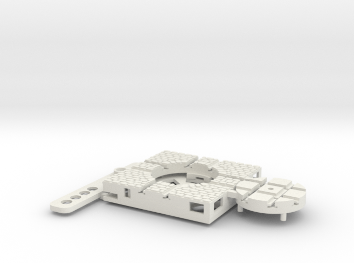 T-9-wagon-turntable-24d-100-plus-base-small-1a 3d printed
