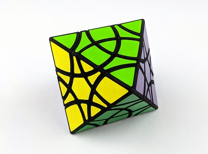 Diamond Duet Puzzle 3d printed Solved