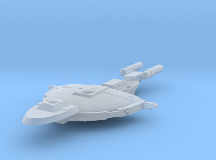 Unionist Light Cruiser 3d printed